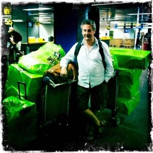 con i bagagli